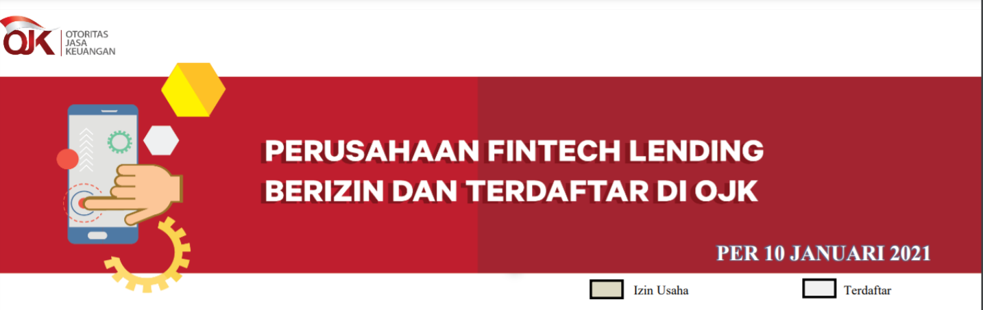 Daftar Fintech Yang Terdaftar Di Ojk Terbaru 2021 (2021)