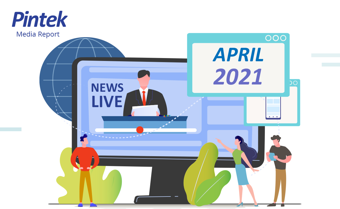 Liputan Media Bulan April 2021