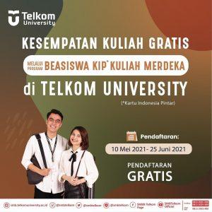 Beasiswa KIP Kuliah Merdeka di Universitas Telkom