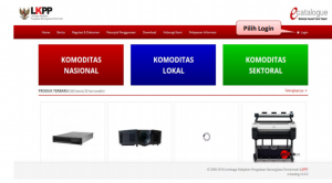 Kriteria barang jasa e katalog LKPP
